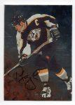 1998-99 Be A Player Autographs #73 Tom Fitzgerald (30-X123-PREDATORS)