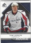 2008-09 SP Game Used #152 Sami Lepisto RC (30-X134-CAPITALS)