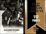 2008-09 Ultra Season Crowns #SC3 Alexander Ovechkin (30-175x5-CAPITALS)