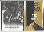 2008-09 Ultra Season Crowns #SC3 Alexander Ovechkin (30-X108-CAPITALS)