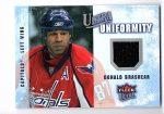 2008-09 Ultra Uniformity #UADO Donald Brashear (30-X33-CAPITALS)
