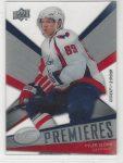 2008-09 Upper Deck Ice #108 Tyler Sloan RC (30-X140-CAPITALS)