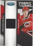 2011-12 Certified Fabric of the Game #28 Jeff Skinner (30-155x3-HURRICANES)