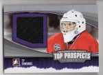 2013-14 Between the Pipes Top Prospects Jerseys Silver #TP07 Ty Edmonds (30-X62-OTHERS)