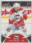2015-16 Upper Deck AHL Autographs #17 Justin Shugg (30-153x1-OTHERS)