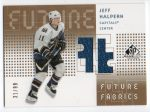 2002-03 SP Game Used Future Fabrics Gold #FFJH Jeff Halpern (60-X145-CAPITALS)