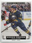 2015-16 Upper Deck Portfolio #323 Jack Eichel (60-X99-SABRES)